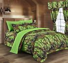 4 PIECE TWIN THE WOODS COMFORTER SET 15 colors