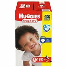 Huggies Snug & Dry Baby Diapers Size 1, 2, 3, 4, 5, 6. Fast Free Shipping.