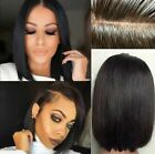 lace front wigs for black hair - US Stock Short Bob Wig Brazilian Remy Human Hair Lace Front Wigs For Black Women