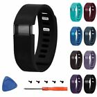 Replacement Silicone Watch Band Strap Bracelet + Tool For Fitbit Charge Tracker