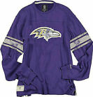Reebok Baltimore Ravens Purple Vintage Applique Throwback Shirt $45.0 USD on eBay