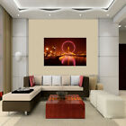 LED House Landscape Lighted Canvas Picture Print Home Wall Art Hanging Decor New