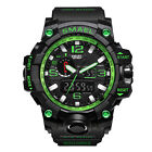 Men's Military Army S-SHOCK Sport Quartz Analog Digital Watch Waterproof SMEAL image