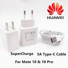 Original Huawei SuperCharge Fast Charger 5A Type-C Cable For Mate 10 10 Pro