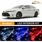 19x LED Interior Bulb + Visor + Reverse for 2005 - 2012 Toyota Avalon + 4Tool