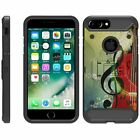 "For Apple iPhone 8 Plus (5.5"") Full Body Armor Rugged Holster Belt Clip Case"