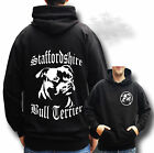 STAFFORDSHIRE BULL TERRIER STAFFY BULL LOVELY GIFT HOODIE S/XXL