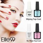 Elite99 No Wipe Top Coat Gel Polish Surface Primer Sealer Na