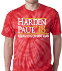 "Tie-Dye James Harden Houston Rockets ""Harden Paul 18"" T-Shirt on eBay"