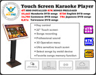 Touch Screen HDD All-In-One Karaoke Jukebox/Machine 6T 143K English + Chinese