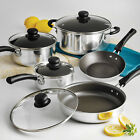 9 OR 18-PIECE COOKWARE SET Pots And Pans Non Stick Cooking Aluminum Professional
