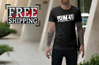 SUM 41 Punk Rock and Roll Band Logo Mens T-Shirt Size S-5XL Free Shipping 1