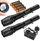 20000LM Super Bright T6 LED Rechargeable Tactical Waterproof Torch Flashlight UK