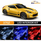10x LED Interior Light Package Kit + Reverse for 2009 - 2018 Nissan 370Z + Tool