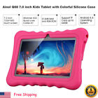 "7"" 8GB Android4.4 Quad Core 3G Dual Cam WIFI Tablet PC TF 64GB For Kids Children"