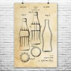Classic Cola Soda Bottle Poster Print Bottler Gift Soda Shop Coke Bottle $26.28  on eBay