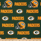 New NFL Green Bay Packers Cotton Broadcloth Sold by the 1/4,1/2 and 1 yard $10.0 USD on eBay