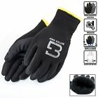Safety Winter Insulated Double Lining Rubber Coated Work Gloves -BGWANS-BK