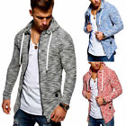 Behype Men's Cardigan Sweater Jacket with zipper MT-7531