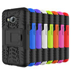 Rugged Hybrid Armor Shockproof Case Stand Cover For Samsung Galaxy J1 Mini Prime