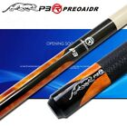 New 3142 Brand P3R Billiards Cue Pool Stick 10mm/11.5mm/13mm Tip 4 Colors $143.76 CAD on eBay