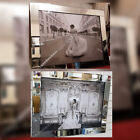 Figurative/lady in white pictures with crystals,liquid art &mirror/chrome frames