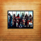 Assassins Creed Timeline Poster Print Wall Art Gaming Console A4 A5 A6 A3 - 1004