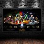 Star Wars Timeline Print Poster Wall Art Films Movie Lucasart A6 A5 A4 A3 - 1029 £9.6 GBP on eBay