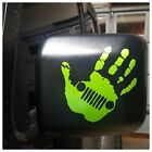 Hand Wave Vinyl Decal Sticker for Jeep Wrangler Rubicon Accessory 26 Colors