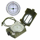 Outdoor Mini Portable Military Army Geology Compass Pocket Prismatic Compass +