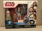 STAR WARS FORCE LINK THE LAST JEDI 4 PACK LUKE REY ROSE STORMTROOPER KOHLS EXC $32.0 USD