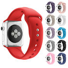 Sports Silicone Bracelet Wrist Strap Replacement Band for Apple Watch iWatch USA