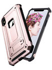 iPhone X Case ULAK Case Hybrid Full-body Armor Bumper Anti-S
