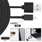 1M 1.5M 3M Strong Heavy Duty USB C 3.1 Type-C Data Sync Charger Charging Cable