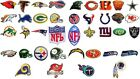 NFL, National Football league team logo patches. Embroidered iron-on patch. $2.9 USD on eBay