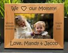 Personalized Engraved // I Love my Mommy // Picture Frame // Mom // Mother