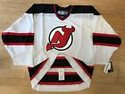 REEBOK NEW JERSEY DEVILS AUTHENTIC ON ICE BLANK JERSEY MENS NWT FIGHT STRAP