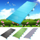 Outdoor Foldable Aluminium Alloy Camping Bed One Person Camp Hiking Sleeping Bed