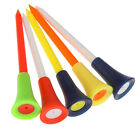 Lot 10/20/50pcs Golf Tools Multicolor Plastic Golf Tees Rubber Cushion Outdoors.