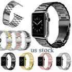 Stainless Steel Wrist Clasp iWatch Band for Apple Watch Series 3/2/1 38mm 42mm image
