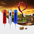 Electric Wine Bottle Opener Automatic Corkscrew With Foil Cutter Vacuum Stopper