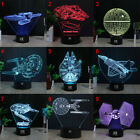 3D Lamp USS Star Trek Acrylic LED Night Light Touch Table Desk Lamp 7 Color Gift on eBay