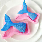 Внешний вид - 3D Mermaid Tail Silicone Fondant Mold Sugarcraft Baking Cake Cupcake  Decor Tool