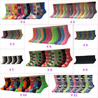 New Lot 12 Pairs Dozen Womens Solid Assorted Styles Crew Socks Fashion Size 9-11