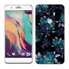 Soft TPU Silicone Case For HTC One X10 E66 Protective Back Covers Skins Floral