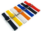 Replacement Soft Flexible Silicone Watch Band Lots of Sizes & Colours C040