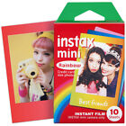 10/20/30 Sheets For Instax Mini Film instant photos for Mini 8 7s 25 70 90