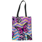 Best Books For Single Women - Canvas Tote Women Multi Butterfly Shopping Bags Student Review