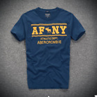 NEW abercrombie & fitch men T shirt AF tee Muscle fit by Hollister S M L XL XXL