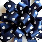 25mm Polka  Dot-Spotty-Dotty Satin Ribbon-Berisfords-5 Metres-Craft  Trim